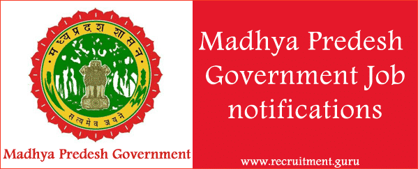 Govt Jobs in MP   Madhya Pradesh Government Jobs Portal  Apply MP Online Jobs