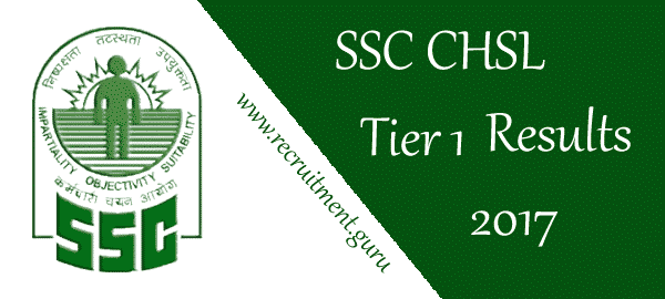 SSC CHSL Tier 1 Result 2017 | Download SSC LDC DEO 10+2 Level Exam Score Card   Result Released