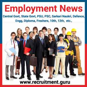 Employment News Today 2017   2018 | Latest Employment News Paper   Govt Jobs Today