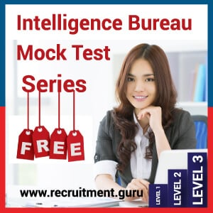 Free Download Intelligence Bureau Previous Papers Pdf   IB ACIO Solved Question Paper   www.mha.nic.in